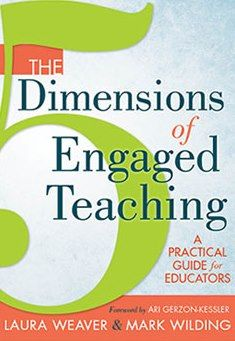 The 5 Dimensions of Engaged Teaching (Solution Tree, 2013) offers practices, principles, stories and activities that support educators to: Develop and sustain a reflective teaching practice; Integrate social, emotional and academic learning in the classroom; and Cultivate a positive school-wide culture. The book includes the wisdom and experience of hundreds of educators across the country gathered over the last ten years through interviews, dialogue groups, surveys and action research.