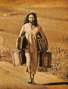 "Your baggage isn't too heavy for Jesus!  ""Come to me, all who labor and are heavy laden, and I will give you rest."" Matthew 11:28"