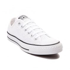 Womens Converse Chuck Taylor All Star Lo Perforated Sneaker Converse Chuck Taylor All Star, Converse All Star, Chuck Taylor Sneakers, Ladies Converse, Ladies Shoes, Plimsolls, High Top Sneakers, Free Uk, Delivery