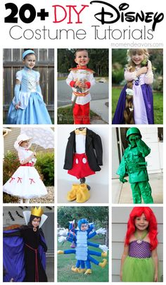20+ DIY Disney Costume Tutorials via momendeavors.com #Disney #Halloween
