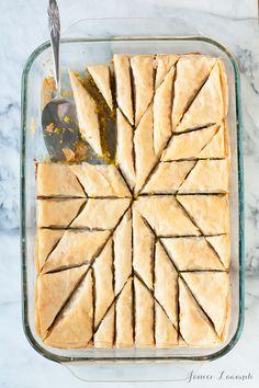 Pistachio baklava | Janice Lawandi @ kitchen heals soul...