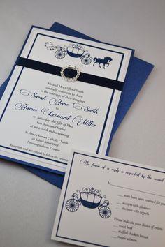 Printable PDF Fairytale Wedding Invitations For The DIY Bride. $25.00, Via  Etsy.
