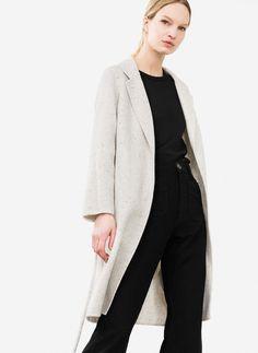 Wool coat - Outerwear - Ready to wear - Uterqüe Spain