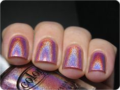 $6 Color Club Miss Bliss • Unused • Amazing Holographic Nail Polish
