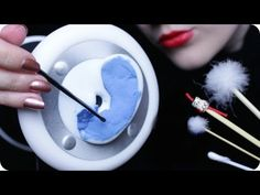 ASMR Ear Cleaning - Japanese Ear Pick, Q-tips, Cotton Pads & Scratching, Tapping Sounds (3Dio) - YouTube