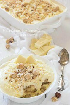 #Tiramisù al #cioccolato bianco e #nocciole… golosissimo! #ricette #italy #cucina #tasty #yummy #food #blog #recipe #foodporn #giallozafferano #dolci