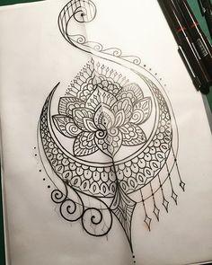 For Kiely  #tattoo #tattooart #tattoodesign #design #drawing #art #sketch #penandink #handdrawn #mehndi #mandala #iblackwork #domholmestattoo #theblacklotusstudio #mondayfunday