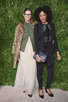 Jenna Lyons y Sarah Jones