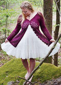 Very nice lace cardigan