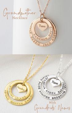 Grandma Necklace • Gifts For Grandma • Personalized Gifts For Grandma • Grandma Gifts • Grandmother Necklace • Personalized Grandma Gifts • Grandmother Jewelry Gifts • Jewelry For Grandma • Gifts For Grandma Ideas • Grandmother Gifts • Grandma Charm Necklace • Personalized Jewelry For Grandma • Grandmother Jewelry • Best Gifts For Grandma • Nana Gifts • Nana Jewelry • Nana Necklace • Gifts For Nana • Grandma Jewelry Gifts • Mothers Day Jewelry • Mothers Day Gift Jewelry • Mothers Day… Grandmother Jewelry, Grandmother Gifts, Etsy Jewelry, Jewelry Gifts, Handmade Jewelry, Nana Gifts, Gifts For Her, Nana Grandma, Grandma Necklace