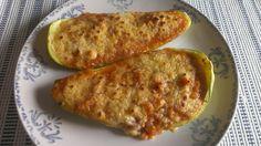 Una deliciosa receta de Calabacines rellenos para #Mycook http://www.mycook.es/receta/calabacin-relleno/