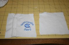 Great tutorial for baby clothes quilt