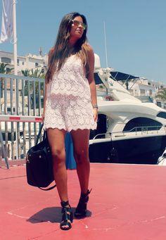 Streetstyle: zara jumpsuit + sandals #fashionblogger