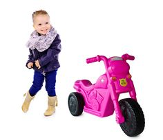 This piki piki bike is the best ride-on bike there is! It teaches balance and steering, while having so much fun!