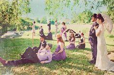 Fotografia Matrimonio in stile Déjeuner sur l'herbe...