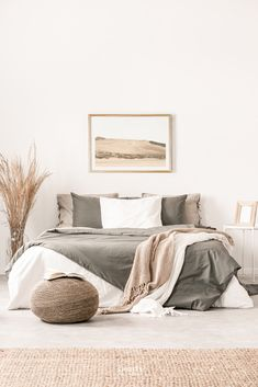 Bedroom Inspo, Home Bedroom, Diy Bedroom Decor, Bedroom Ideas, Bedroom Signs, Bedroom Wall, Art For Bedroom, Master Bedroom Decorating Ideas, Zen Master Bedroom
