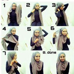 How to wear hijab on round face – Hijab Fashion 2020 Muslim Fashion, Hijab Fashion, Islamic Fashion, Modest Fashion, Women's Fashion, Fashion Trends, New Hijab Style, Hijab Teen, How To Wear Hijab