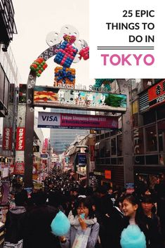 25 epic things to do in Tokyo whether it's your first or visit. Features theme cafes, cake-filled crepes, sushi-making, sumo wrestling and more. Japan Travel Guide, Tokyo Travel, Asia Travel, Travel Guides, Travel Vlog, Travel Abroad, Travel Hacks, Hiroshima, Nagasaki