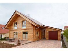 Rappenau - #Einfamilienhaus von Rems-Murr-Holzhaus GmbH | HausXXL #Blockhaus…