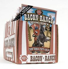 NEW! J's Bacon Ranch Dressing & Dip Mix (Case Pack of 24)