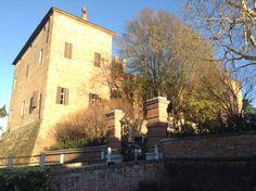 Castello di Pomaro. Piedmont, Italy