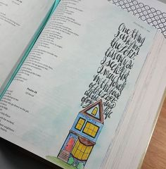 My Weekly Bible Journaling #45 – Psalms | Paulette's Papers