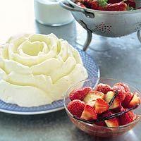 Recept - Vanillepudding met gemarineerde aardbeien - Allerhande
