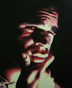 Self-Portrait in Oil by egoodwinart.deviantart.com on @DeviantArt