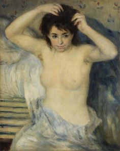 Pierre-Auguste Renoir  French, 1841–1919  Before the Bath (Avant le bain)  c. 1875  Oil on canvas											  							  			  				Pierre-Auguste RenoirFrench, 1841–1919Before the Bath (Avant le bain)c. 1875Oil on canvas