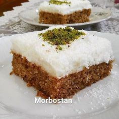 The dessert of Cyprus made this one of my favorite desserts in c . Cookie Recipes, Dessert Recipes, Turkish Sweets, Easy Chocolate Chip Cookies, Good Food, Yummy Food, Turkish Recipes, Vegan Baking, Food Cakes