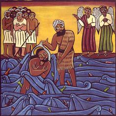 The #Baptism of our Lord.  The First Sunday after #Epiphany.