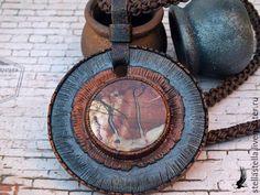 Купить Кулон с яшмой. - комбинированный, украшения ручной работы, бижутерия ручной работы, авторская работа