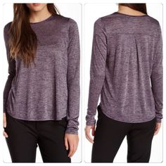 "♣️ Vince LS Crew Neck Top Vince Long Sleeve Crew Neck Top   Size: M  Bust 40""  Waist 44""  Length 24""  Fabric: 80% Rayon 20% Polyester  Color: Purple  Condition: Excellent  TradesModeling ✅Smoke free home✅  ✅Offers considered✅ Please use the blue 'offer' button to submit an offer.   Bundle 2 or more items for an automatic 15% discount. Vince Tops Tees - Long Sleeve"