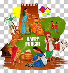 Fantasy Background, Festival Background, Cartoon Styles, Cartoon Art, Background Patterns, Background Images, Pongal Images, Happy Pongal, Butterfly Wallpaper