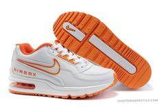 best service 76afd dff65 Nike Air Max Ltd 1 White Orange Women Shoes Michael Jordan Schuhe, Air  Jordan