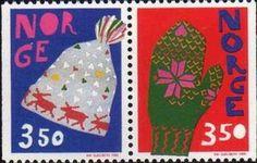 Sello: Christmas (Noruega) (Christmas) Mi:NO 1200-1201,Yt:NO 1157a,AFA:NO 1198-99
