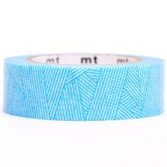blue wool pattern stripe mt Washi Masking Tape deco tape
