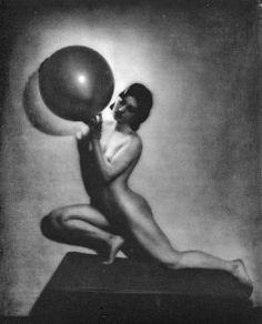 (Nude) Bernard Leedham - Le Globe - Gravure