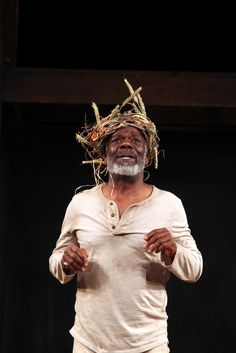 Joseph Marcell is King Lear