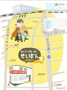 Map illustration by kazuemon