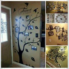 """Family """"tree"""" decor"""