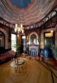 Aesthetic Movement  The Turkish Room  The Macdonald Mansion