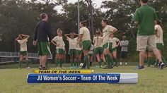 JU women's soccer team wins conference, head to NCAA tournament   Team of the Week  - Home