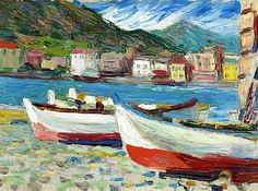 bofransson:  WASSILY KANDINSKY (1866-1944)RAPALLO, BOOTE