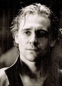 Love this vintage photograph look of Hiddleston!