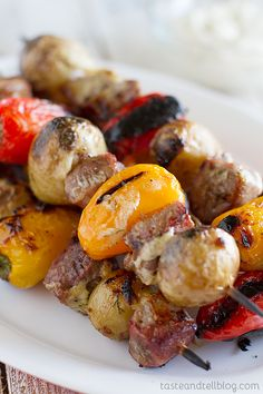 Steak and Potato Kabob Recipe {Fridays with Rachael Ray}