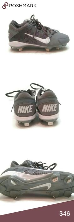 a65ee54c6 Air HyperDiamond Pro Metal Spikes Softball Cleats One of the cleats has a