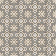 Best Tiles Home » Moroccan Encaustic Cement Pattern Grey Tile gr06