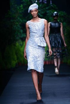 MBFW AFRICA 2013 - Thula Sindi Collection. Credit: SDR Photo Summer 2014, Spring Summer, French Fashion, Afro, Peplum Dress, Fashion Outfits, Clothes, Collection, Dresses
