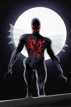 #Spiderman #2099 #Fan #Art. (Spiderman 2099) By: Rene-L.